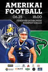 Amerikai Fotball mérkőzés: Enthroners- Eagles
