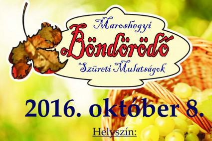Maroshegyi Böndörödő 2016
